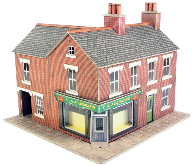 PO263 Terrace Corner Shop