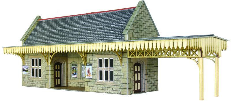 PO239 Wayside Station Shelter