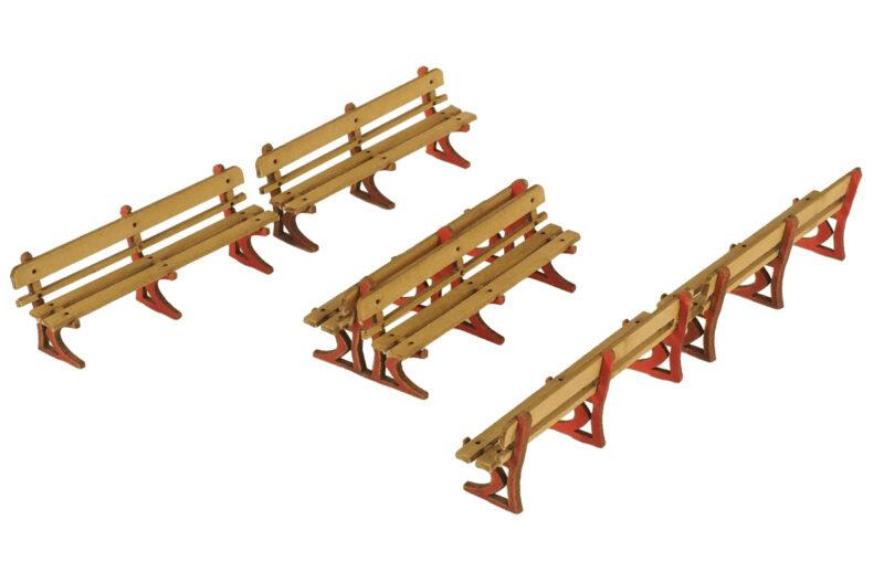 PO502 Platform Benches