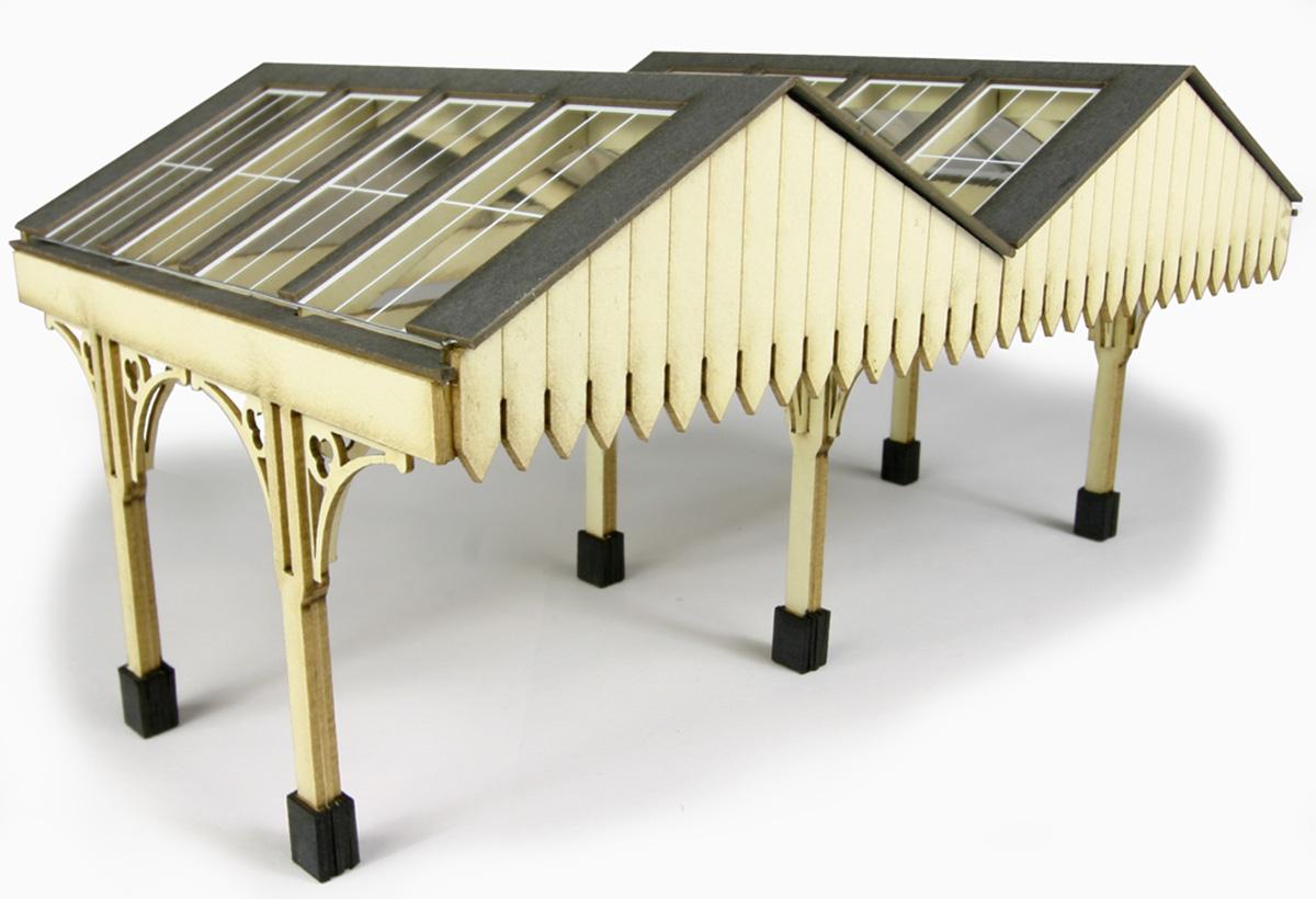 PO340 00/H0 Scale Platform Canopy  sc 1 st  Metcalfe Models & 00 Gauge Railway Kits - Platform Canopy