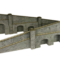 PO249 Tapered Retaining Wall