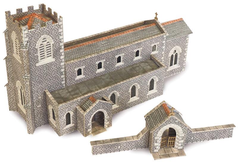 PN926 N Scale Parish Church