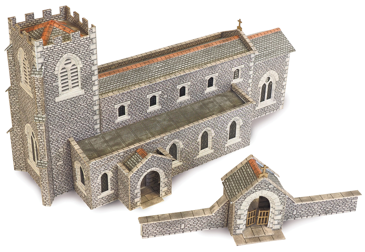 PN926 N Scale Parish Church