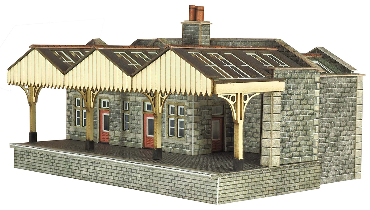 Metcalfe PN921 N Gauge Parcels Office Card Kit