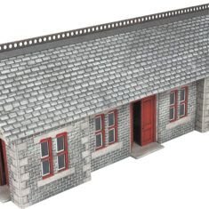 Metcalfe PO337 Settle Carlisle Double Track Engine Shed OO Gauge