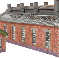 picture about Free Printable Model Railway Buildings identify Property site - Railway Layouts Toys against Metcalfe - Well prepared Lower