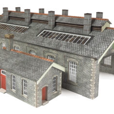 photograph regarding Free Printable Model Railway Buildings identify House web site - Railway Layouts Toys against Metcalfe - Organized Minimize